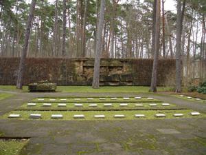 Общий вид братского кладбища (Юрмала, Булдури)